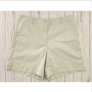 ❤ Just In! Talbots Khaki High Rise Petite Shorts